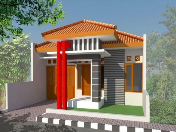 teras rumah minimalis sederhana wow