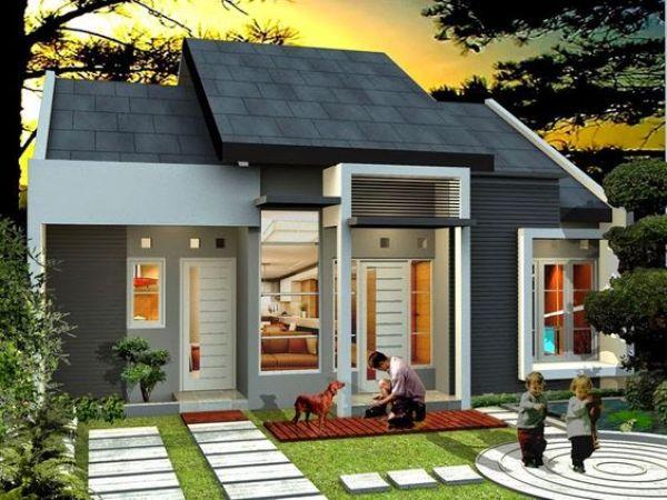 Teras Rumah minimalis Sederhana ganteng