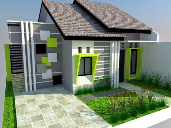 teras rumah minimalis sederhana sekali