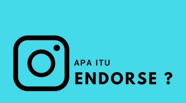 arti endorse di instagram