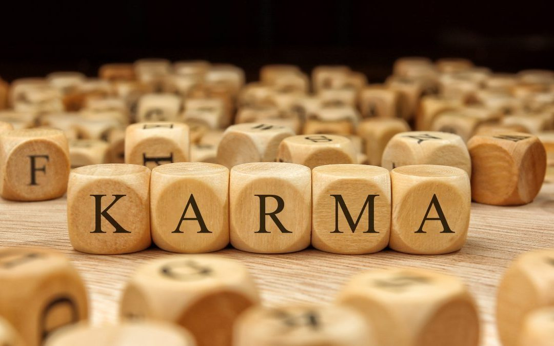 When someone blames you, they actually take away some negative karma from you!