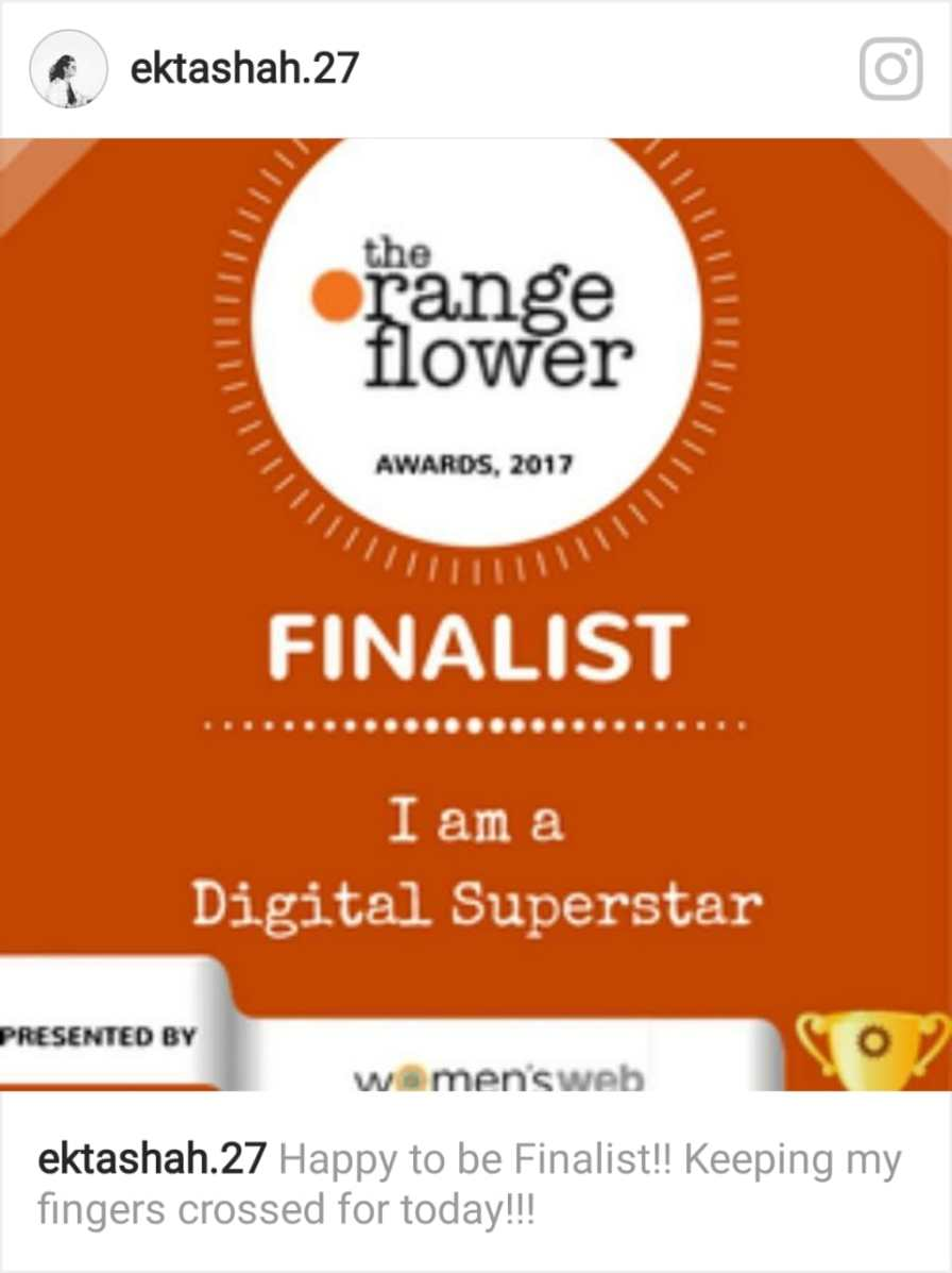 Orange Flower Awards