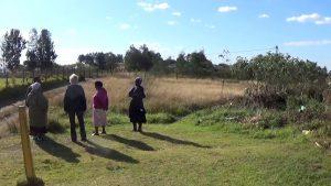 Das Grundstück in Oswathini, auf dem der neue Creche entstehen soll.