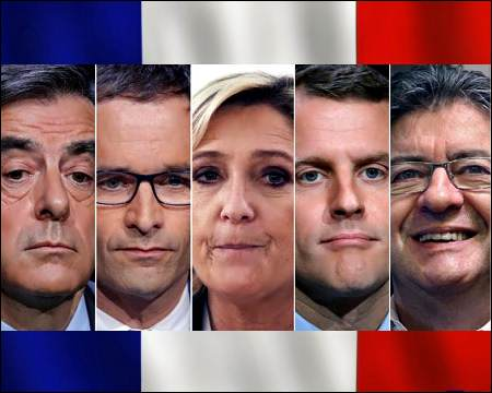 French presidential race tightens further as vote looms