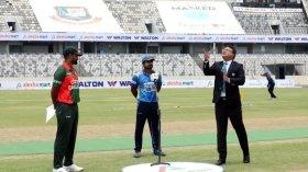 দ্বিতীয় ওয়ানডেতে টস জিতে শ্রীলঙ্কার বিপক্ষে ব্যাটিংয়ে বাংলাদেশ