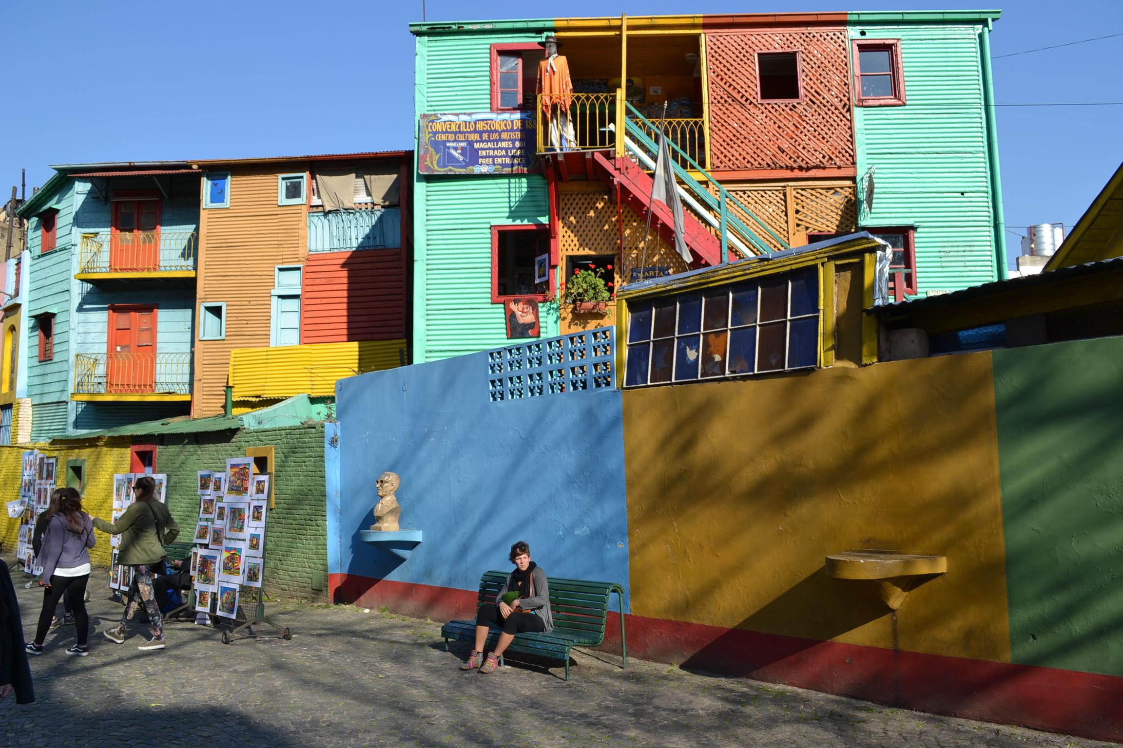 La Boca, Buenos Aires (apuntes de la vida de turista)