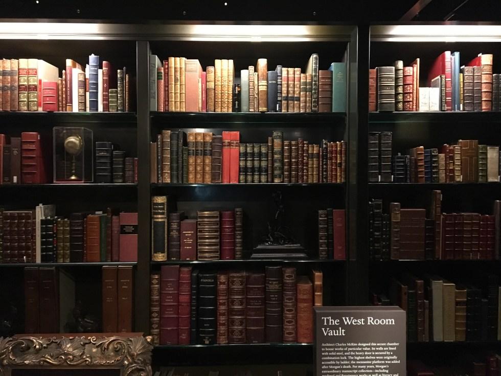 JP Morgan books - library
