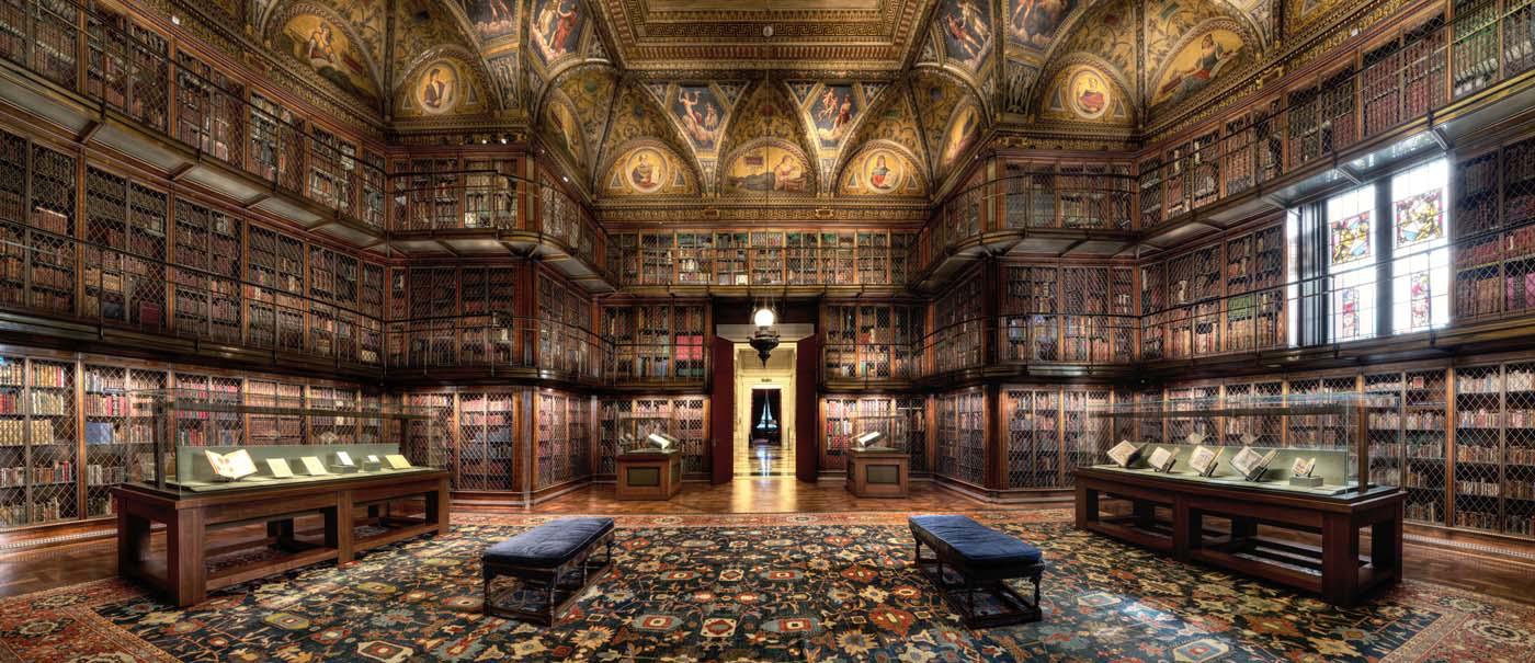 Los muchos libros de J.P. Morgan