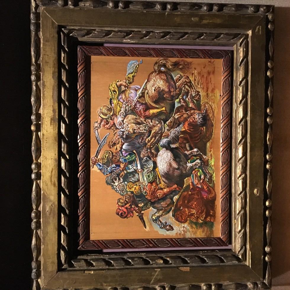 Salvador Dalí Copia de Rubens copia de Leonardo