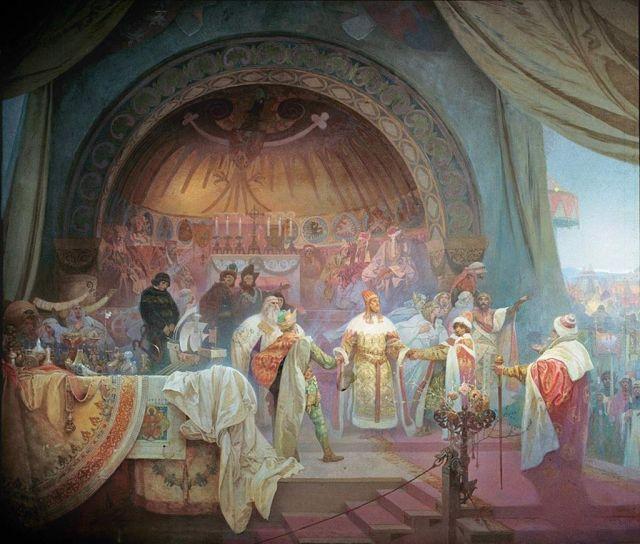 King_Přemysl_Otakar_II_of_Bohemia_-_Alfons_Mucha
