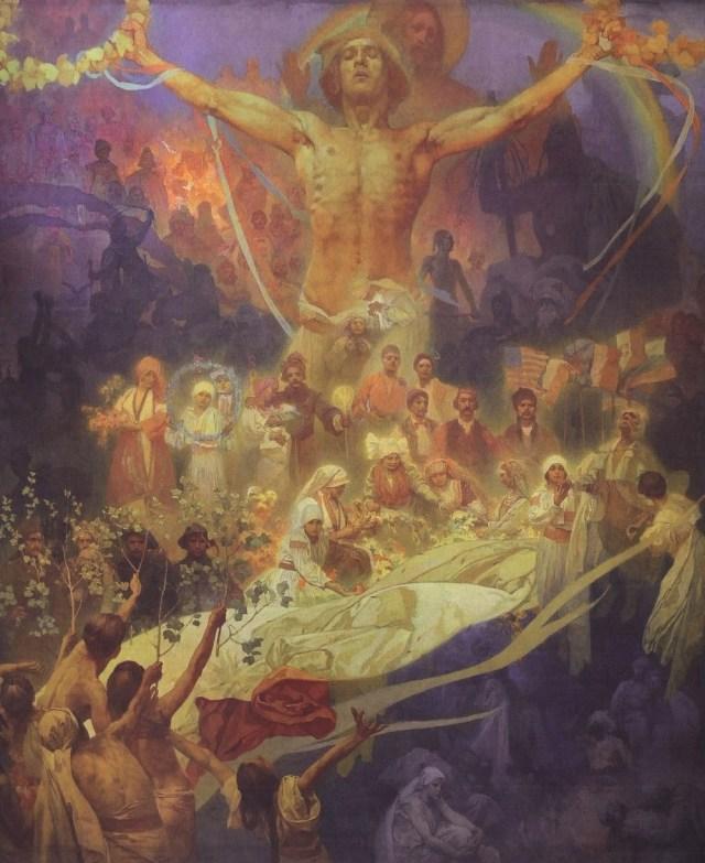 alphonse-mucha-slav-epic-20-the-apotheosis-of-the-slavs-slavs-for-humanity-1926