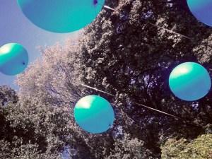 globus blaus a l'aire