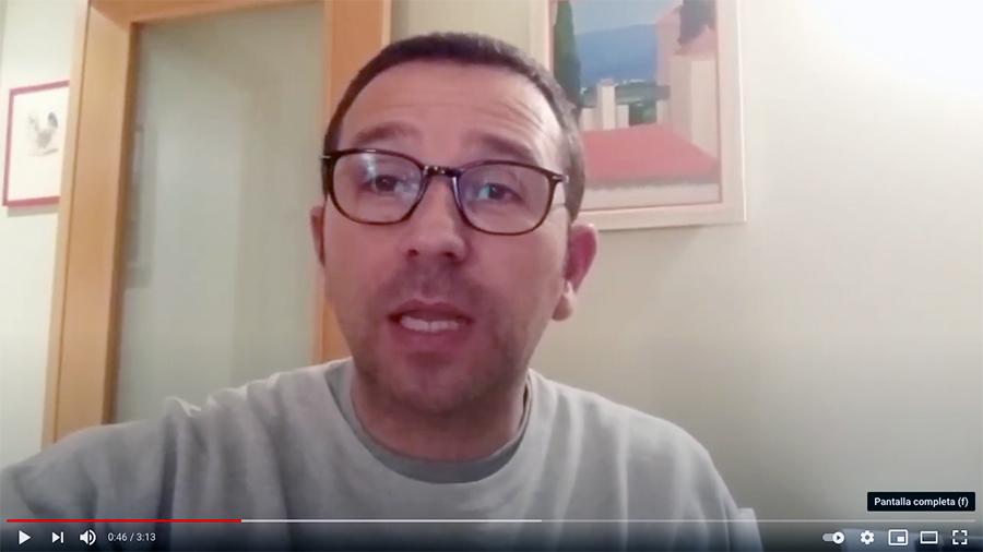 Hombre testimonio del Máster en Ecología Emocional de 2019
