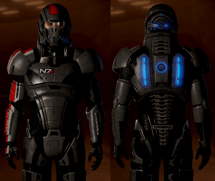 Actually, for all you Mass Effect fans out there, it probably looks something like this...