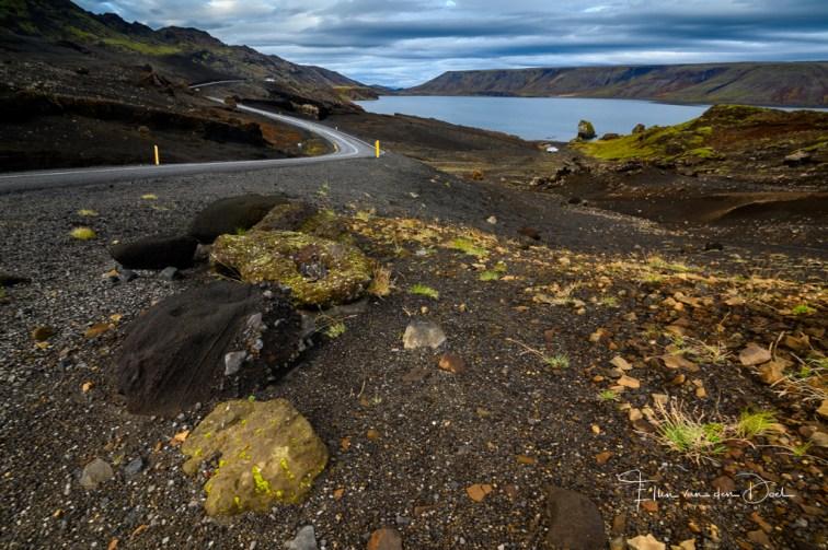Het bijzondere landschap in de buurt van Krýsuvík
