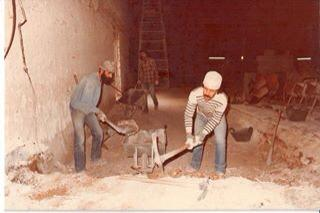 Ibrahim Khalilah - Edward Muallem, digging the small hall in the theater, 1983