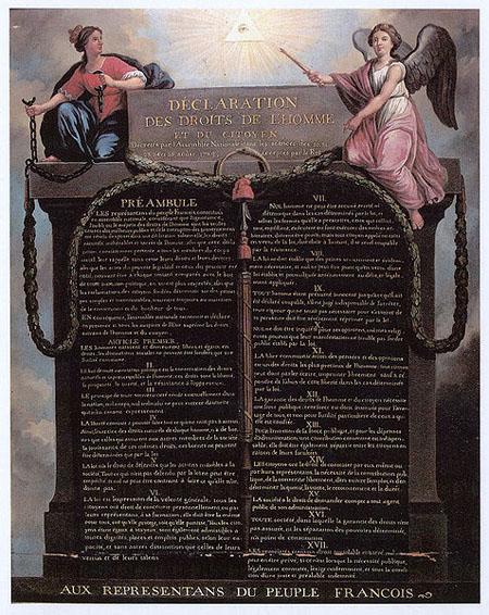 Declaración de los Derechos del Hombre y del Ciudadano de 1789