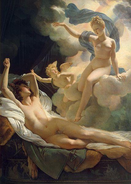 Morfeo e Iris, de Pierre-Narcisse Guérin (1811)