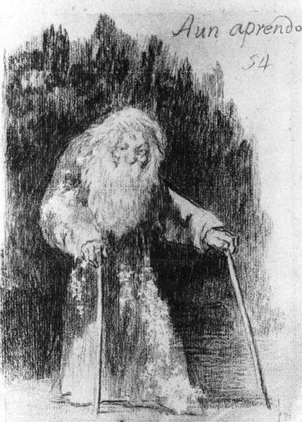 Aún Aprendo, Goya