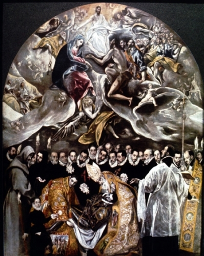El entierro del Conde de Orgaz, el Greco