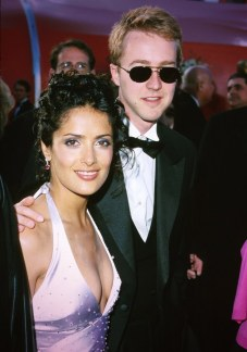 Salma Hayek and Edwart Norton