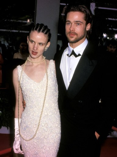 Juliette Lewis and Brad Pitt