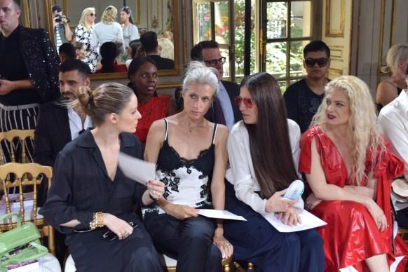 Olivia Palermo Sarah Harris, Elizabeth Saltzman Angela Ismailos