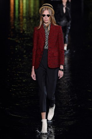 Saint Laurent show, Runway, Spring Summer 2019, Paris Fashion Week, France - 25 Sep 2018