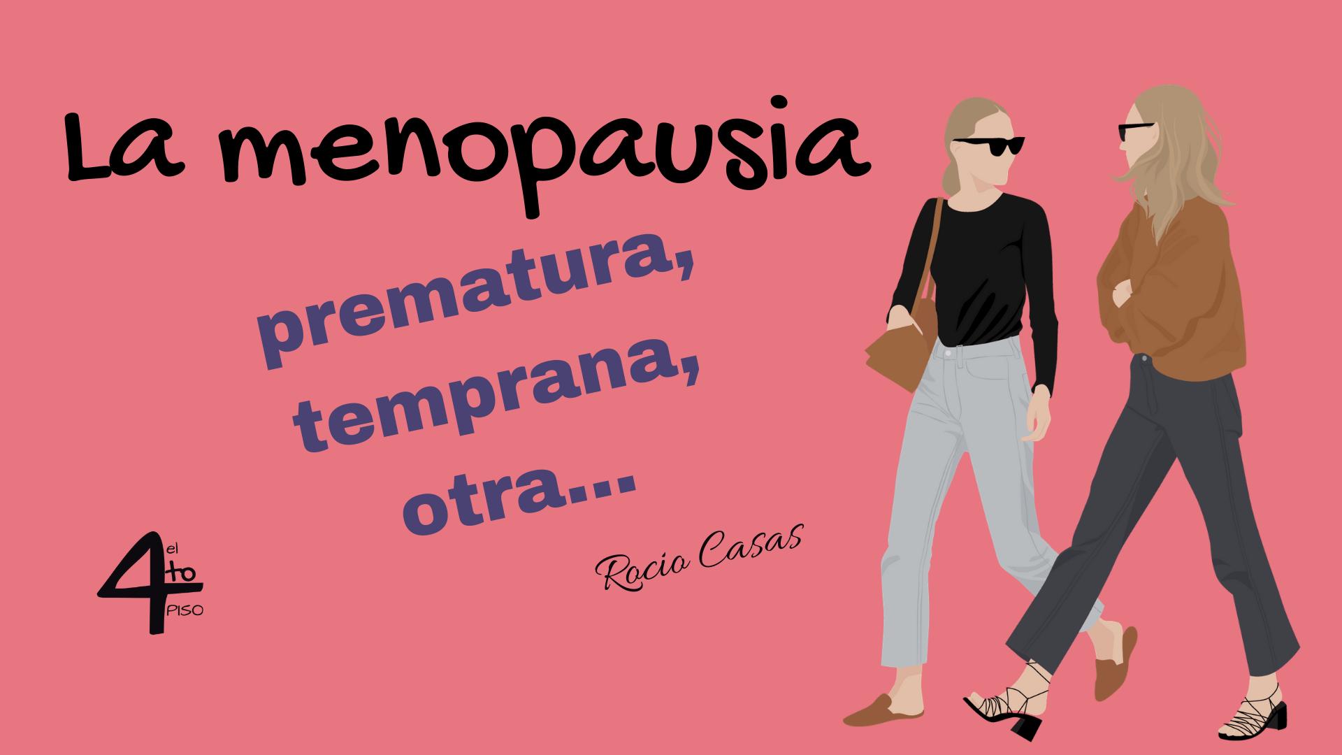 la menopausia prematura temprana
