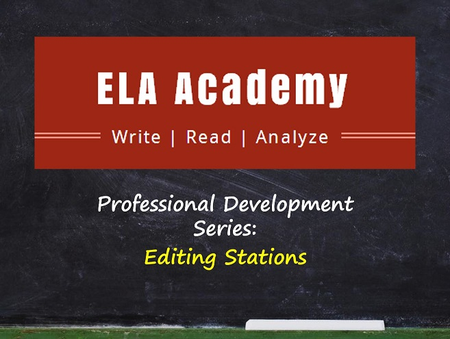 Editing Stations – Professional Development Series