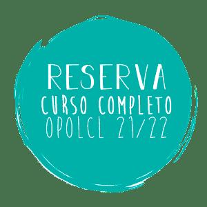 RESERVA CURSO COMPLETO OPOLCL 21/22