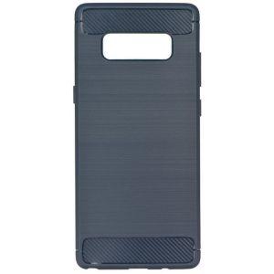 POWERTECH Θήκη Carbon Flex για Samsung Note 8, Blue | Αξεσουάρ κινητών | elabstore.gr