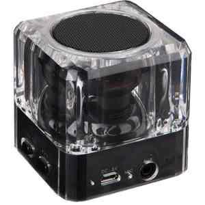 POWERTECH Bluetooth Speaker PT-404, Portable, 3W, Led Light, Black | Εικόνα & Ήχος | elabstore.gr