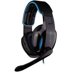 SADES Gaming Headset Snuk, USB, 7.1CH με 40mm ακουστικά | Συνοδευτικά PC | elabstore.gr