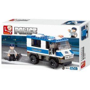 SLUBAN Τουβλάκια Police, Prisoner Trasporterer M38-B0273, 126τμχ | Παιχνίδια | elabstore.gr