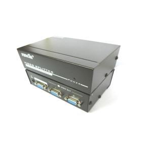 Video Splitter 1pc-2Monitors 250MHz  Aculine SPL-009   A/V SPLITTER   elabstore.gr