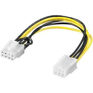 93635 PCI Express 6 pin > PCI Express 8 pin | ΚΑΛΩΔΙΑ / ADAPTORS | elabstore.gr