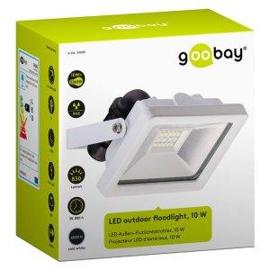 59085 LED OUTDOOR FLOODLIGHT WHITE 10W 830lm | ΦΩΤΙΣΜΟΣ / ΗΛΕΚΤΡΟΛΟΓΙΚΑ | elabstore.gr