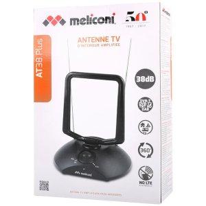 MELICONI AT 38 INDOOR ANTENNA TV AMPLIFICATA   ΕΙΚΟΝΑ / ΗΧΟΣ   elabstore.gr