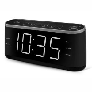 LIFE RAC-003 RADIO ALARM CLOCK WITH LED DISPLAY,BLACK | ΕΙΚΟΝΑ / ΗΧΟΣ | elabstore.gr