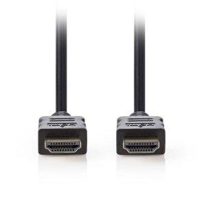 NEDIS CVGP34000BK15 High Speed HDMI, Cable with Ethernet, HDMI Connector - HDMI | ΚΑΛΩΔΙΑ / ADAPTORS | elabstore.gr