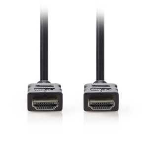 NEDIS CVGP34000BK05 High Speed HDMI, Cable with Ethernet, HDMI, Connector - HDMI | ΚΑΛΩΔΙΑ / ADAPTORS | elabstore.gr