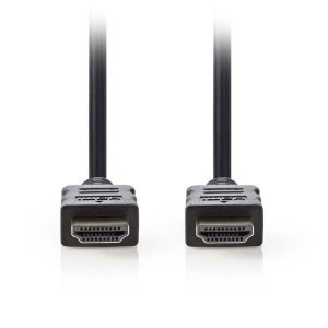NEDIS CVGP34000BK20 High Speed HDMI Cable with Ethernet HDMI Connector-HDMI Conn | ΚΑΛΩΔΙΑ / ADAPTORS | elabstore.gr