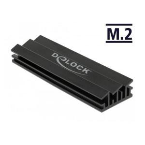 DELOCK Ψύκτρα 70 mm για M.2 συσκευές, μαύρη   PC & Αναβάθμιση   elabstore.gr