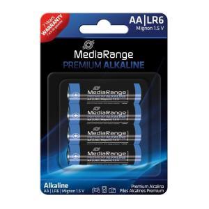 MEDIARANGE Premium Αλκαλικές μπαταρίες AA LR06, 4τμχ | Μπαταρίες | elabstore.gr