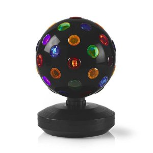 NEDIS FUDI213BK Multi-Colour Disco Ball 6 W 550 lm 20 cm | ΗΛΕΚΤΡΟΝΙΚΑ / ΕΡΓΑΛΕΙΑ | elabstore.gr