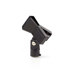 "NEDIS MPCL10BK Microphone Clamp Universal 5/8"" and 3/8"" Screw Black 