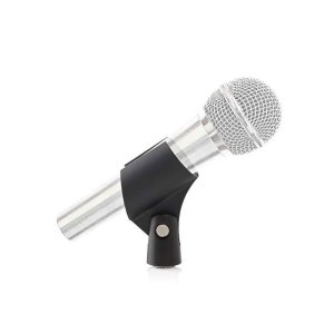 "NEDIS MPCL20BK Microphone Holder Universal 5/8"" and 3/8"" Screw Black 