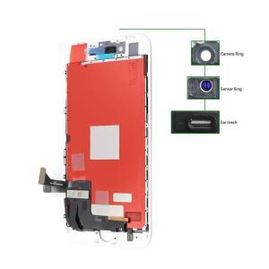 TIANMA High Copy LCD iPhone 8, Camera-Sensor ring, ear mesh, White   Service   elabstore.gr