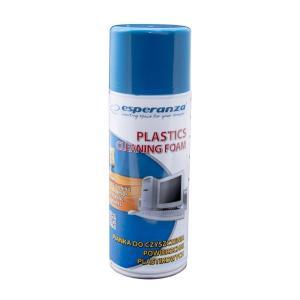 ESPERANZA Αφρός καθαρισμού ES104 για πλαστικές επιφάνειες, 400ml | Αναλώσιμα - Είδη Γραφείου | elabstore.gr